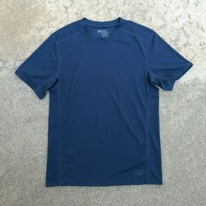 REI Moisture Wicking Poly Hiking Exercise T Shirt
